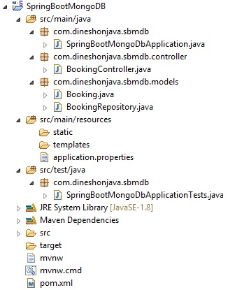 Spring Boot and MongoDB in REST Application - Dinesh on Java