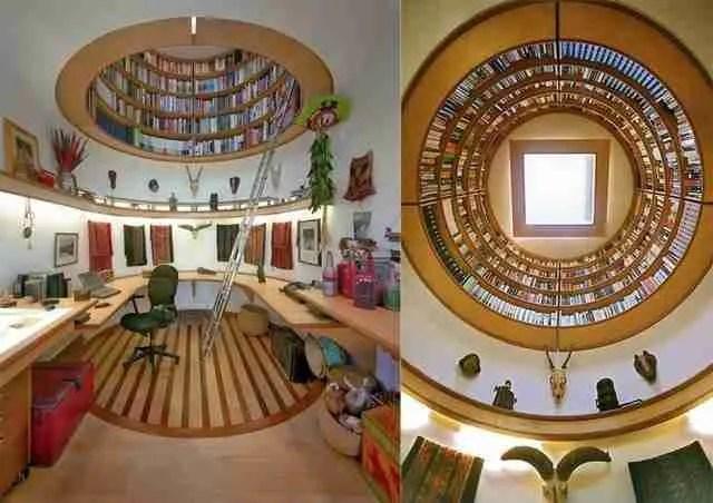 Μια βιβλιοθήκη για το γραφείο σας.