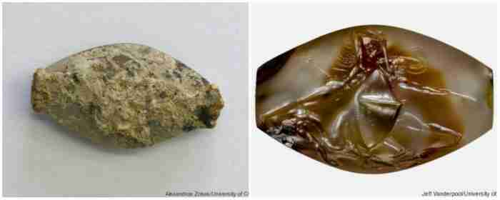 Η «χάντρα» από τον τάφο του πολεμιστή στην Πύλο που άφησε άφωνους τους αρχαιολόγους
