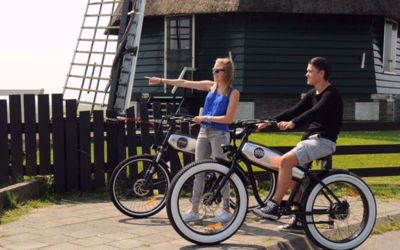 E-fatbike huren Volendam: 3 uur E-fatbike verhuur