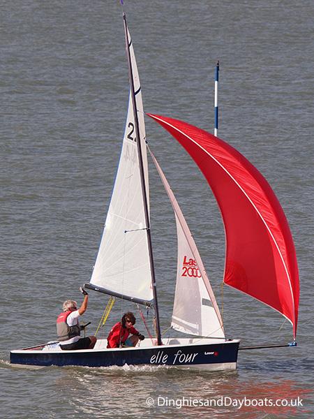 Laser Class Sailing Dinghy