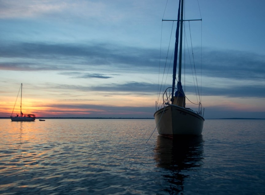 sailing lake champlain, liveaboard