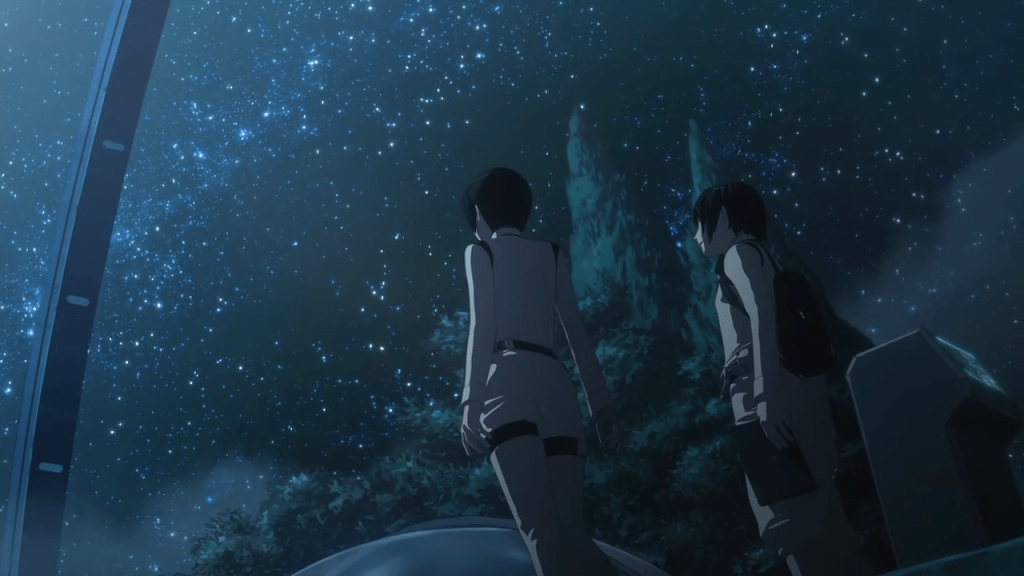 Starry sky in Knights of Sidonia: Battle for Planet Nine