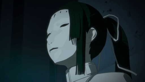 Captain Kobayashi in Knights of Sidonia