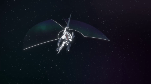 Mecha frame in Knights of Sidonia