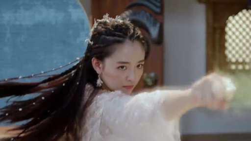 """Janice Wu as Bai Luoheng in """"Fighter of the Destiny"""""""