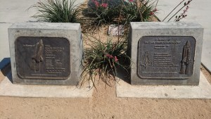 Challenger and Columbia dual memorials
