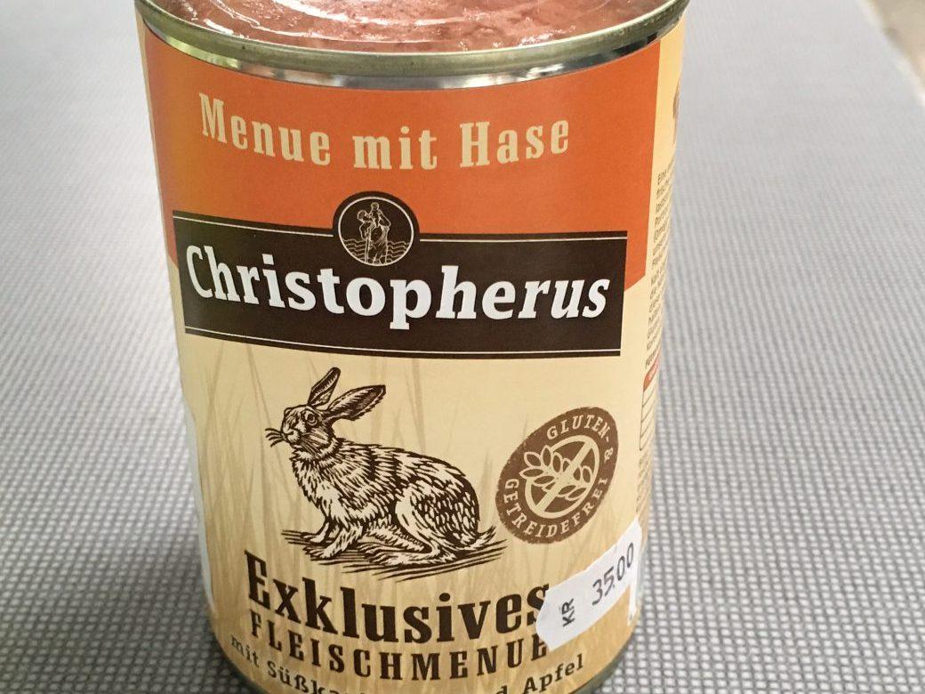 Christopherus Exklusives Dåsemad med Hare