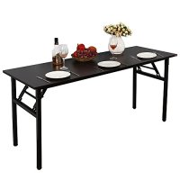 "Need Computer Desk Office Desk 63"" Folding Table with ..."