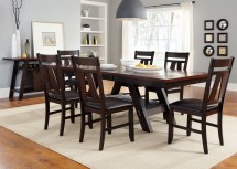 Liberty Furniture Lawson 7 Piece Pedestal Dining Set In