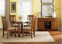 Liberty Furniture Urban Mission 5pc Casual Dining Room in