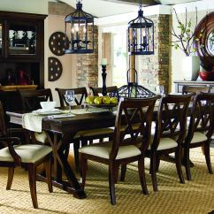 Paula Deen Kitchen Table Premade Island Legacy Classic Thatcher Rectangular Trestle Dining ...