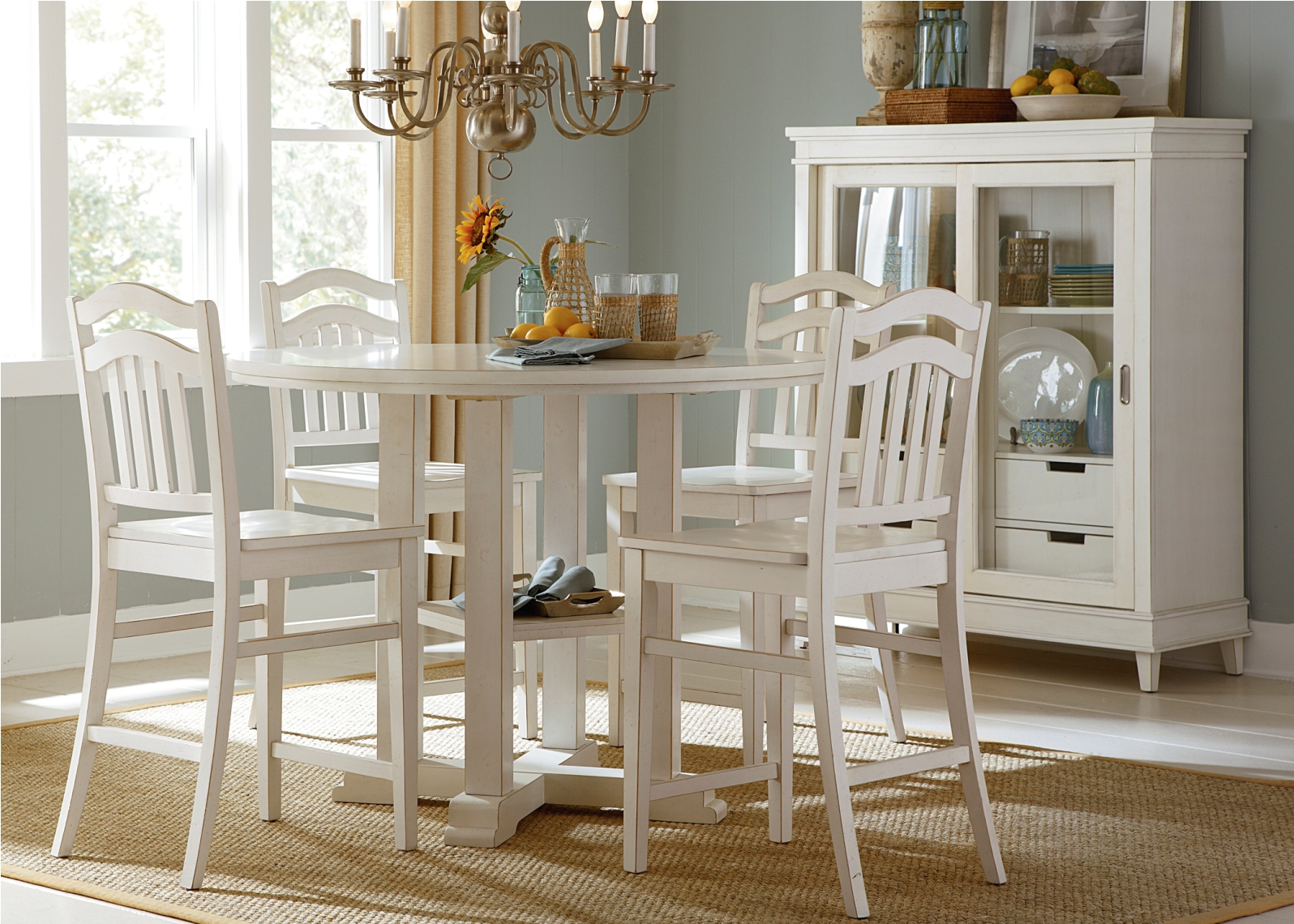 Liberty Furniture Summerhill 5 Piece Gathering Dining Set