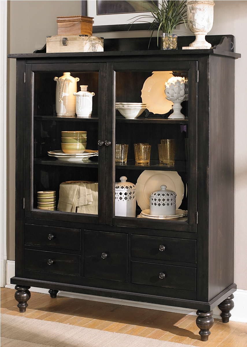 living room furniture discount kitchen plans liberty whitney display cabinet in black cherry ...