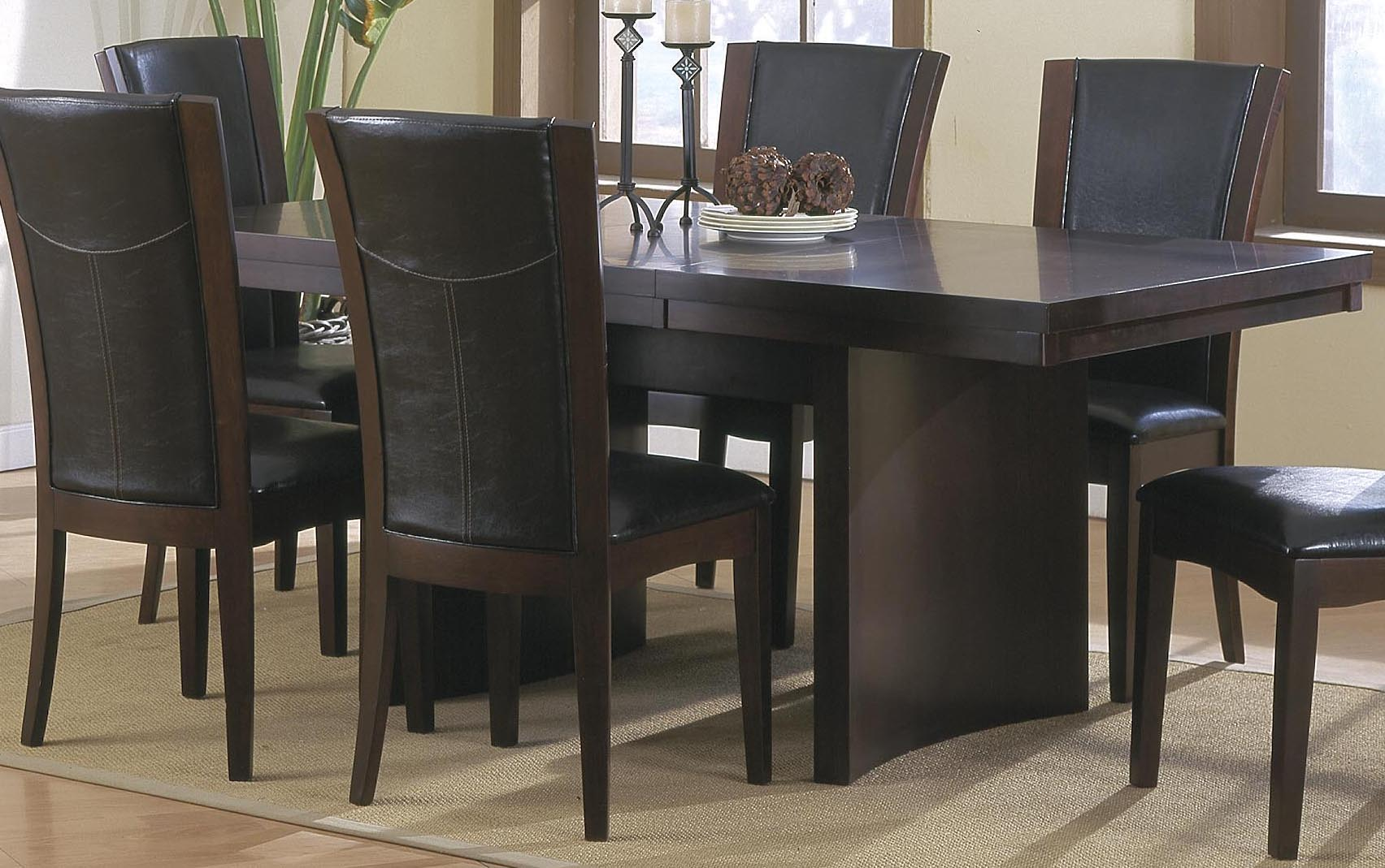 Homelegance Daisy Rectangular Extension Dining Table in