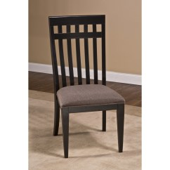 Distressed Black Dining Chairs Aluminum Management Chair Hillsdale Furniture Copeland Set Of 2 In