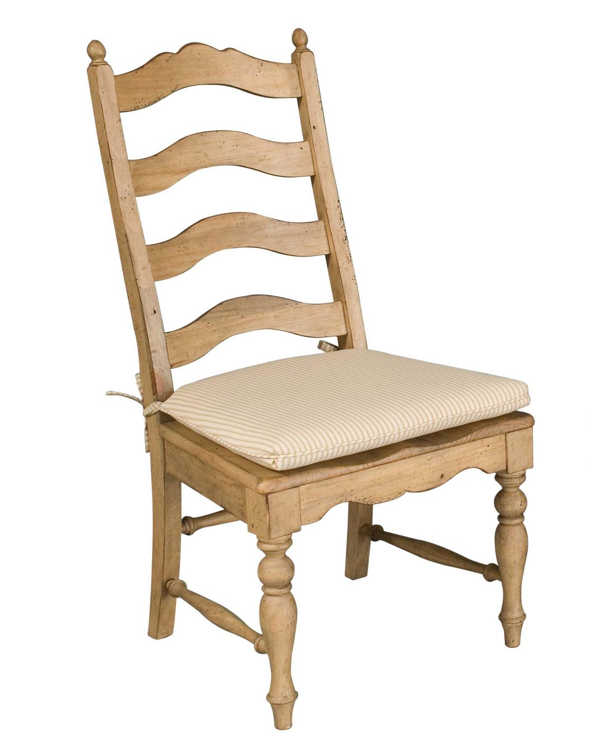 ladderback dining chairs metallic gold chair covers kincaid homecoming solid wood side set