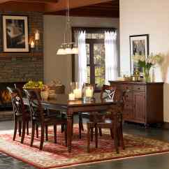 Fancy Dining Room Chairs Best Pc Gaming Aspenhome Cambridge 7pc Formal Set In Brown