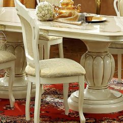 Paula Deen Living Room Furniture Collection Decorating Ideas For Small Rooms On A Budget Esf Leonardo Dining Table W/18