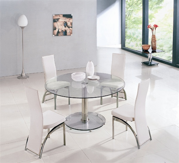 kitchen table and 6 chairs uk mesh seat office chair maxi round glass dining tables