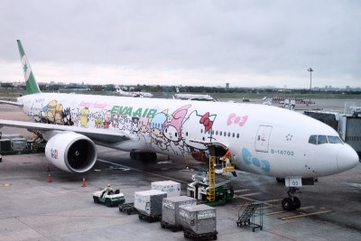 My EVA Air Hello Kitty Plane Experience