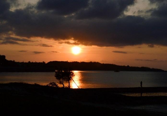 To Live in Okinawa, Sunset in Okinawa, Japan