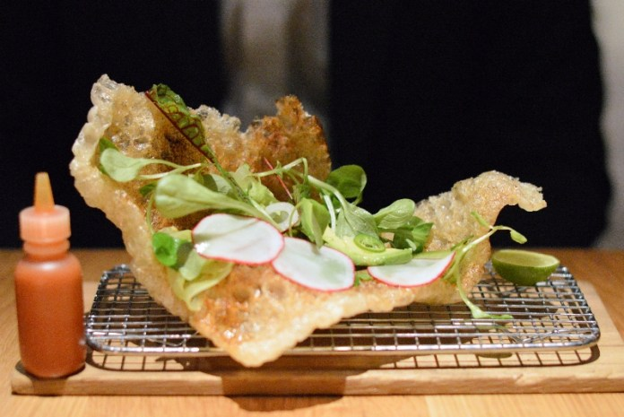 Chicharron at Cosme NYC