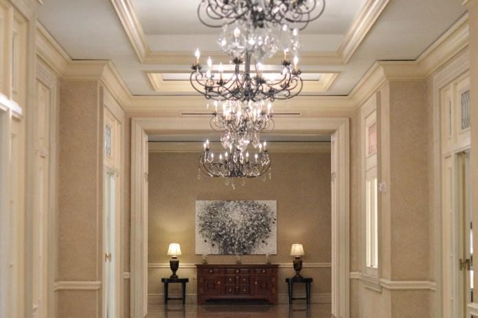 Lobby at Ritz Carlton San Juan