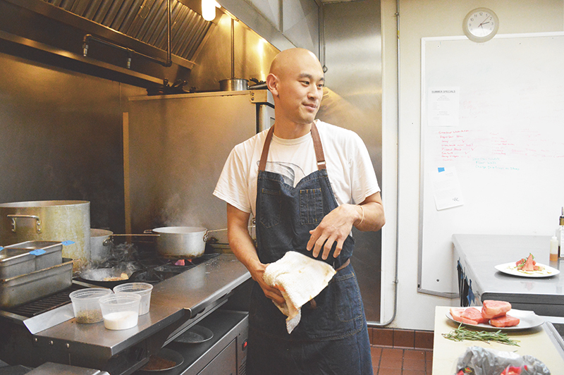 Q&A with Chef Tim Ma