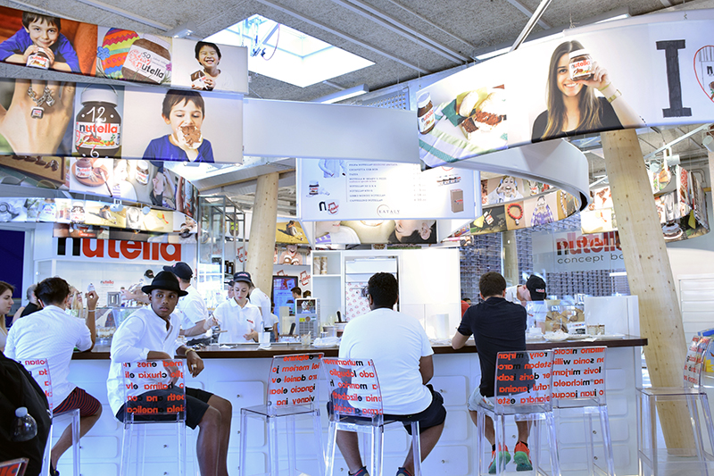 Nutella Concept Cafe at Expo Milano