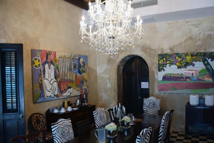 Old San Juan Hotels Villa Herencia Breakfast Room