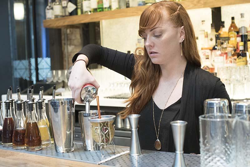 Sarah Ruiz, beverage manager at Dirty Habit DC