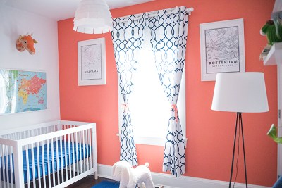 Inspiration: Travel Themed Baby Room