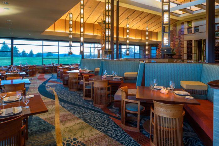 Nemacolin Woodlands Resort Aqueous Dining