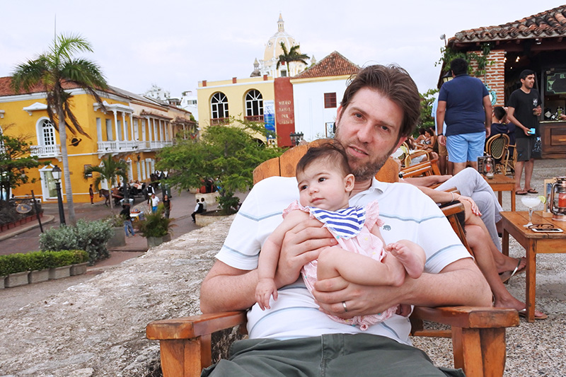 Flying with baby in Colombia
