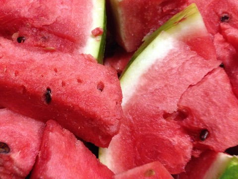 Delicious Watermelon chunks