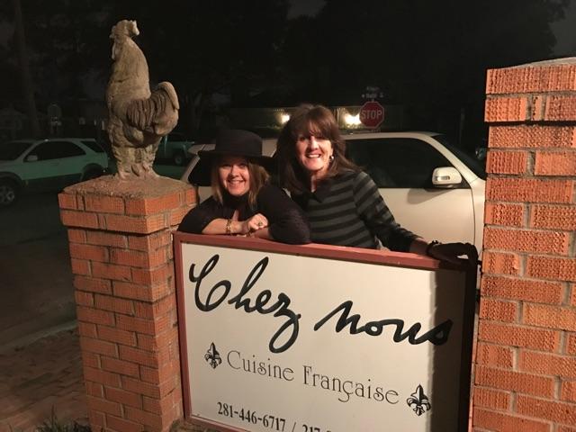 Friends at Chez Nous Houston