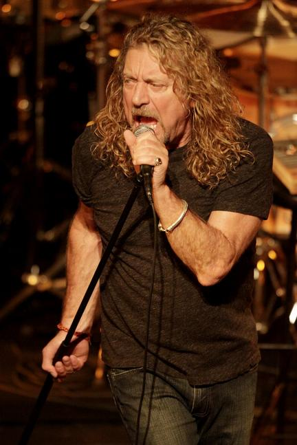 Robert Plant at the Saenger