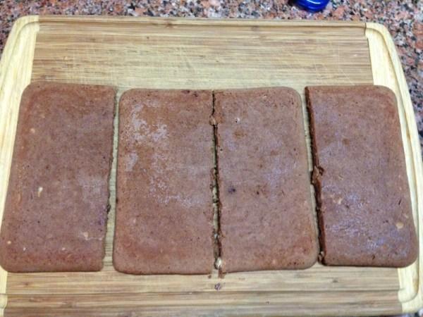 Thin cake layers