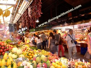 Food Market in Barcelona
