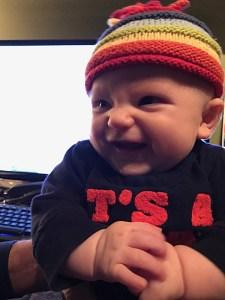 Adorable Nephew Super-Baby