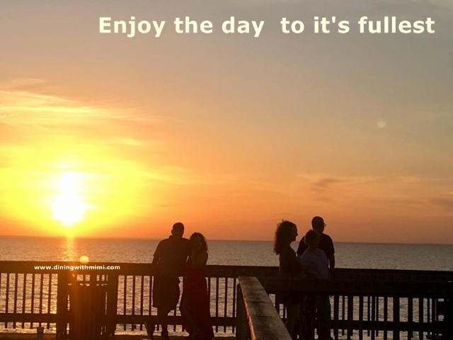 Tired of the news? Enjoy the day to it's fullest www.diningwithmimi.com