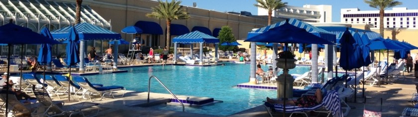 Beau Rivage Pool 24 Hours Coastal Mississippi www.diningwithmimi.com