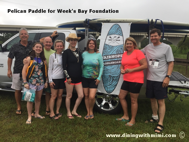 Weeks Bay Pelican Paddle www.diningwithmimi.com