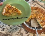 Quiche- Albacore Tuna Spiced Up? Wow!