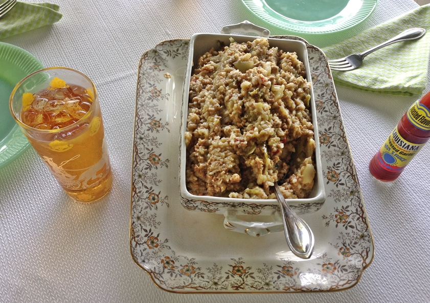 Old Southern Rice Dressing Recipe