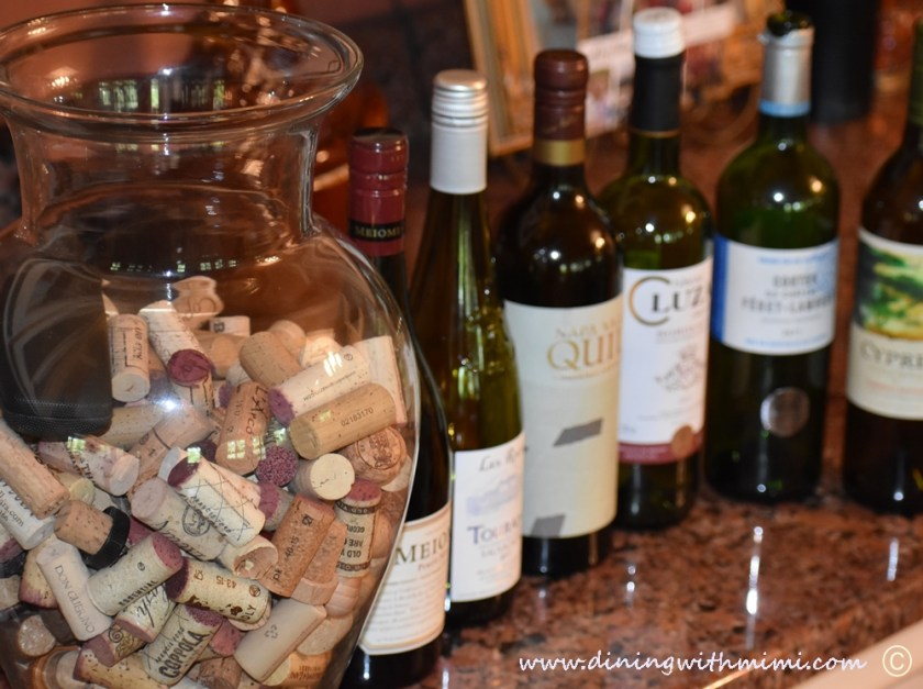 Wine bottles for Plan a wine tasting with friends www.diningwithmimi.com