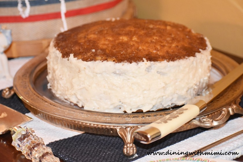 Beautiful Cake Can you slice, dice and whip it good? www.diningwithmimi.com