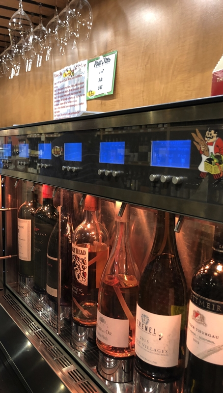 Wine valet in Market Foodie Mecca and Mimi's Travels www.diningwithmimi.com