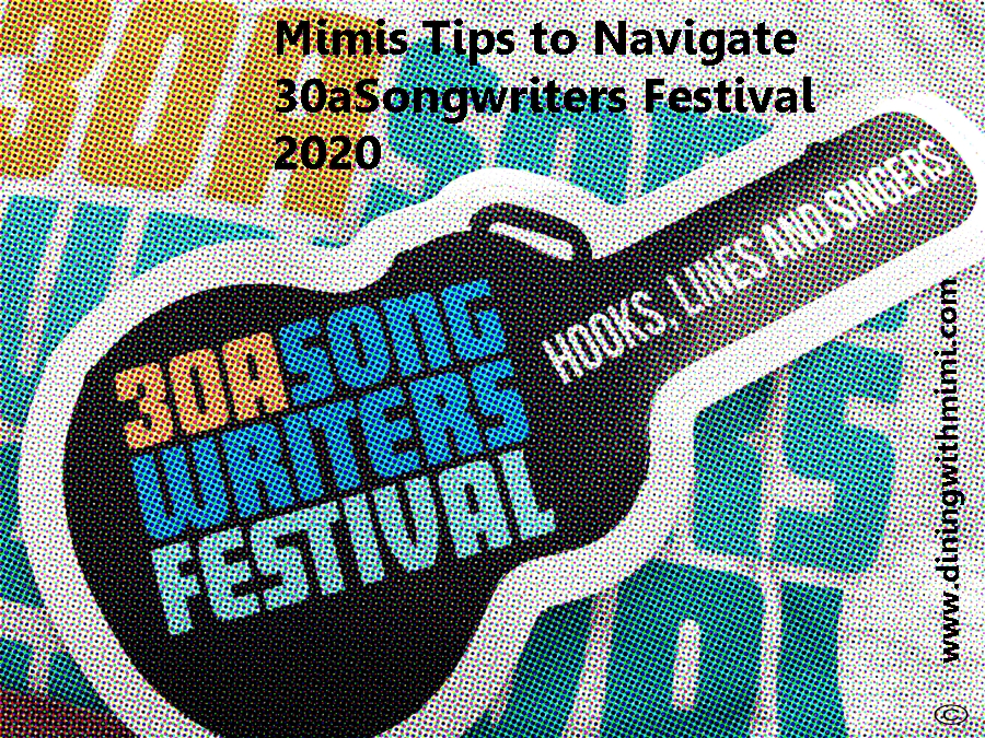 Post for 30aSongwriters Festival 2020 www.diningwithmimi.com